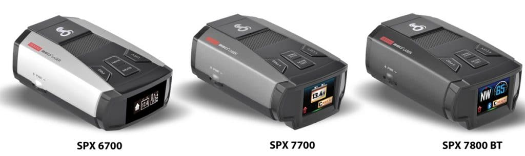 cobra radar detector spx series