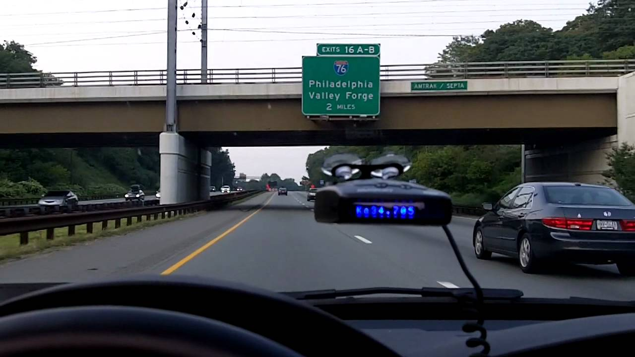 escort passport 8500x50 black radar detector blue display live action