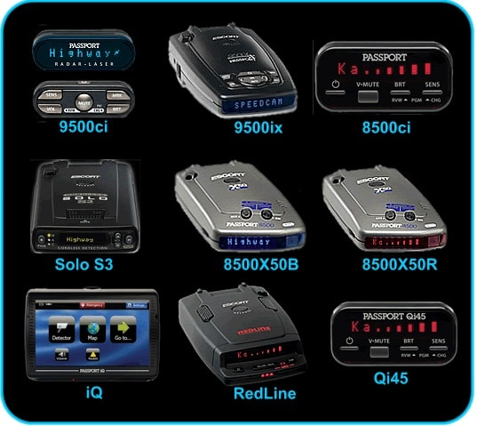 escort radar detectors brands