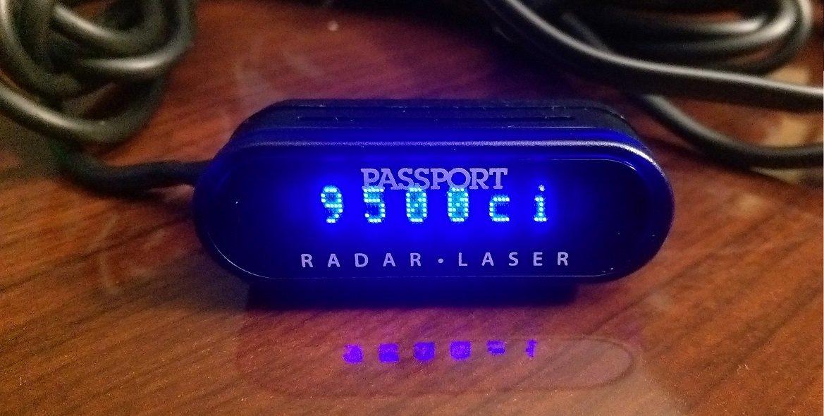 Escort Passport 9500CI Radar Detector with Laser Shifterpro Defense System