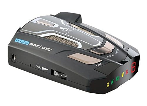 Cobra Electronics SPX 5400 Ultra-High Performance Radar/Laser Detector