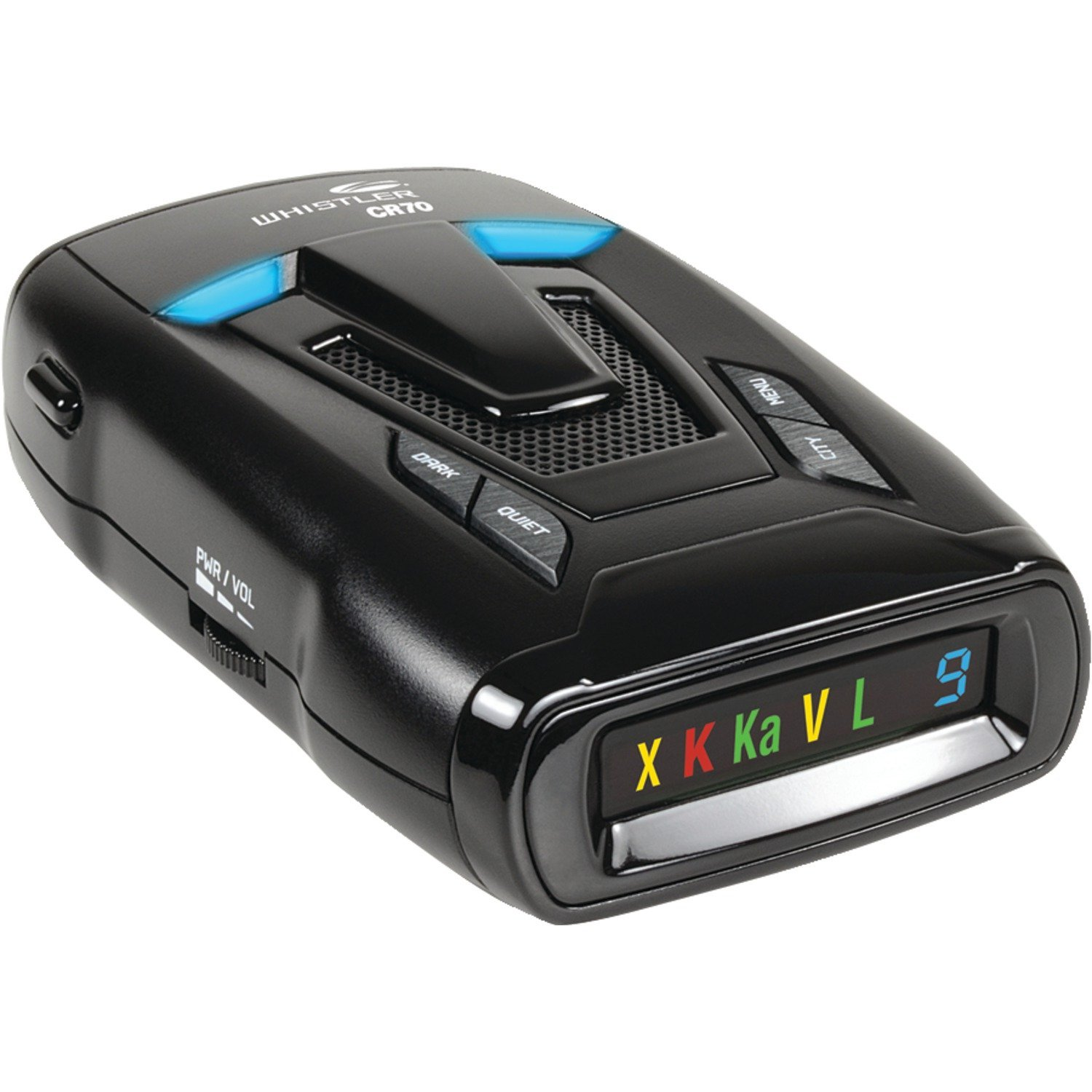 Whistler CR70 Laser-Radar Detector with Real Voice Alerts and Traffic Flow Signal Rejection