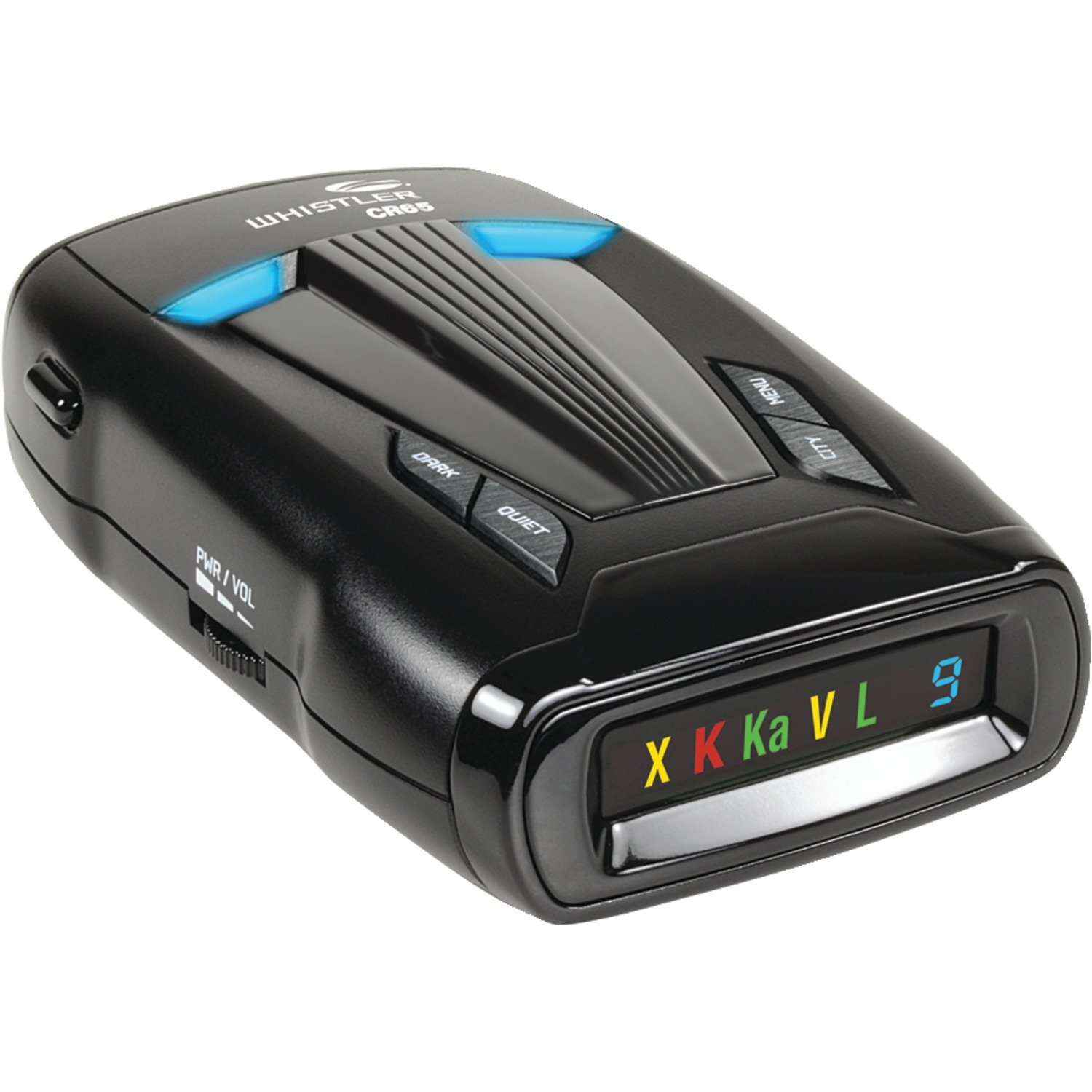 Whistler CR65 Laser-Radar Detector with Traffic Flow Signal Rejection