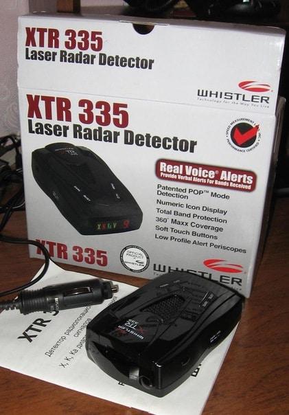 whistler xtr-335 package