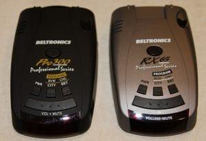 beltronics pro 300 vs rx65