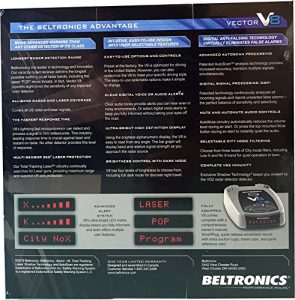 beltronics v8 review of features