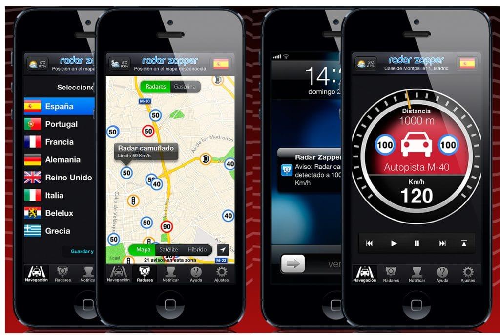 cop radar detector app examples