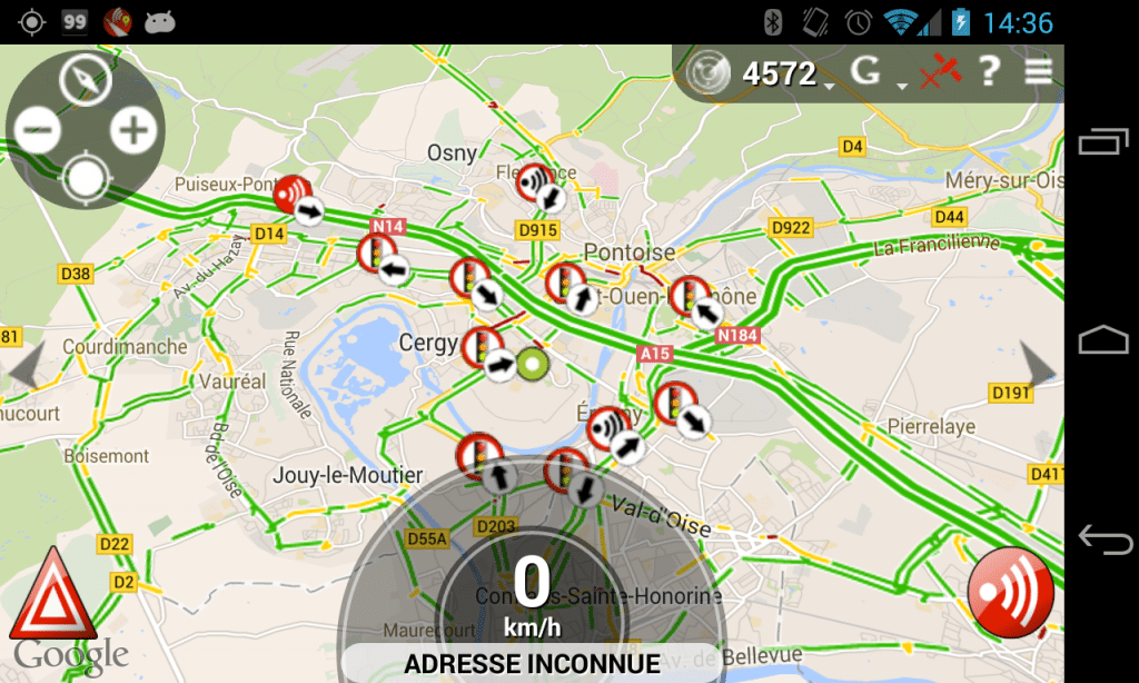 cop radar detector app live preview