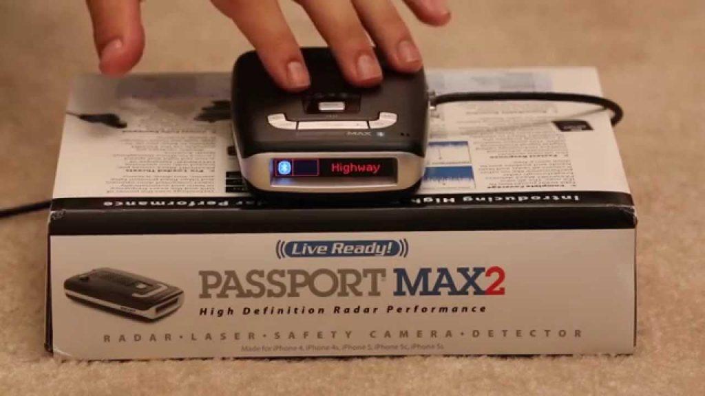 escort passport max2 box