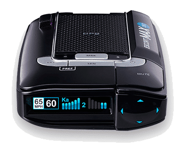 escort passport max 360 radar detector with front and rear antenna