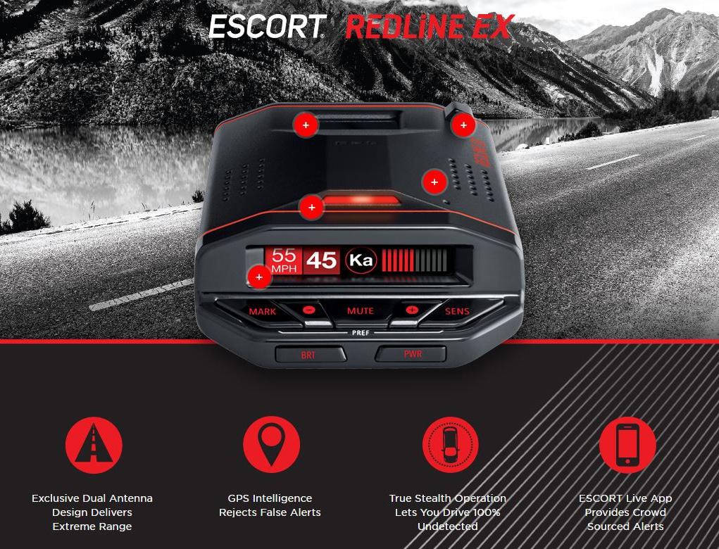 escort redline ex review banner