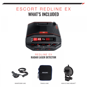 what's included in Escort Redline EX