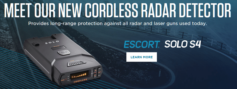solo s4 new cordless radar detector