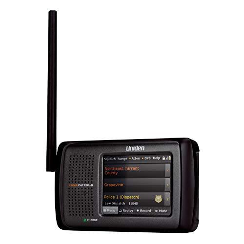 Uniden HomePatrol-2 Color Touchscreen Simple Program Digital Scanner