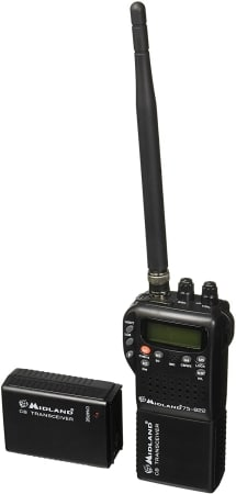 Midland 75-822 Handheld 40-Channel CB Radio
