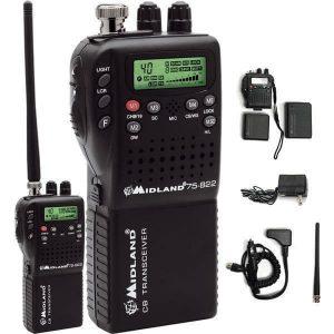 Midland 75-822 handheld mobile cb radio
