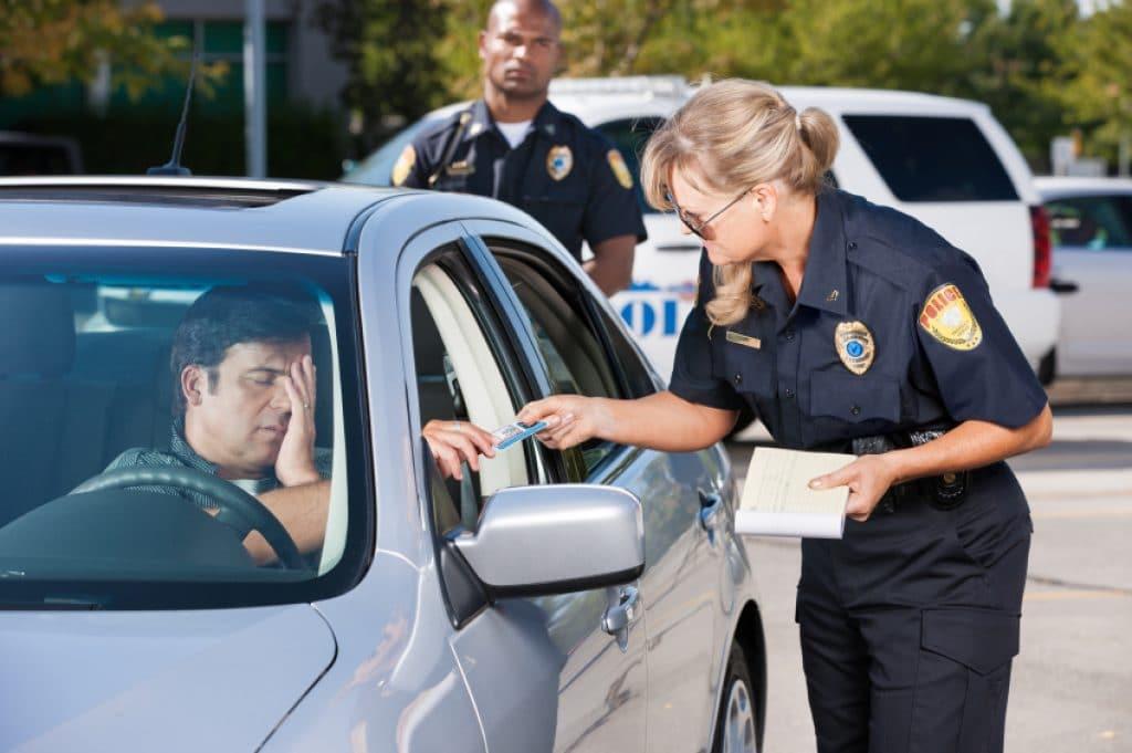 Speeding ticket in Virginia