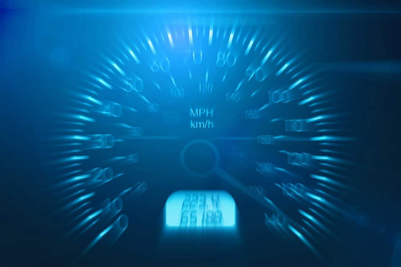 speeding speedometer