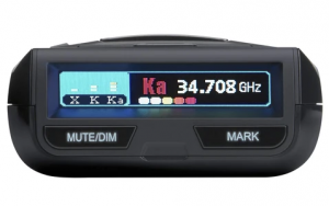 photo of uniden r3 radar detector