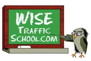 Wise Traffic School logo
