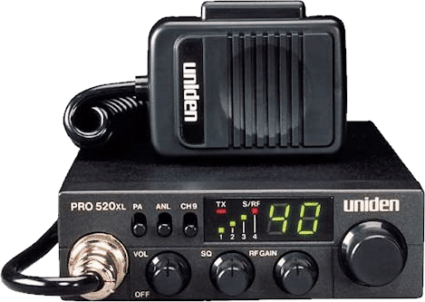 Uniden PRO520XL Pro Series 40-Channel CB Radio