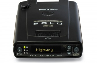 Escort Solo S3 Cordless Radar Detector Review 2017