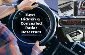 Best Hidden & Concealed Radar Detectors