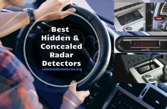 Best Hidden & Concealed Radar Detectors