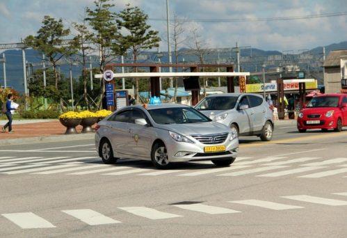 Hyundai Silver car
