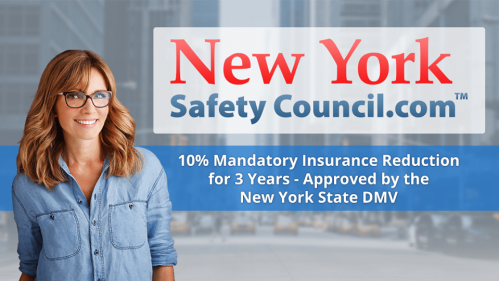 New York Safety Council insurance reduction