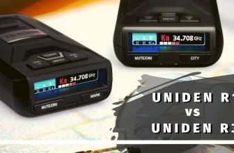 Uniden Radar Detectors: R1 VS R3