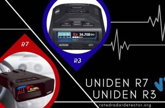 Uniden Radar Detectors: R7 VS R3