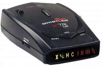 Whistler XTR-135 Radar Laser Detector Review