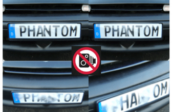 Anti Camera License Plate Cover & Blocker Introduction