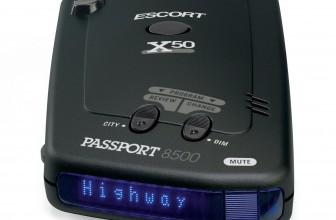 Escort Passport 8500×50 Black Radar Detector Review