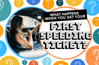 What Happens When You Get Your First Speeding Ticket?